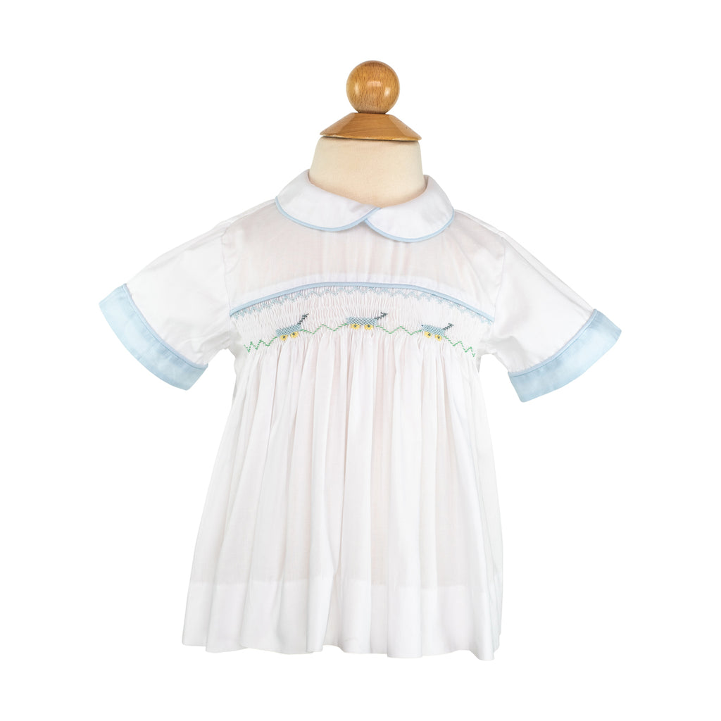 Smocked Scooters Shirt Size 3T