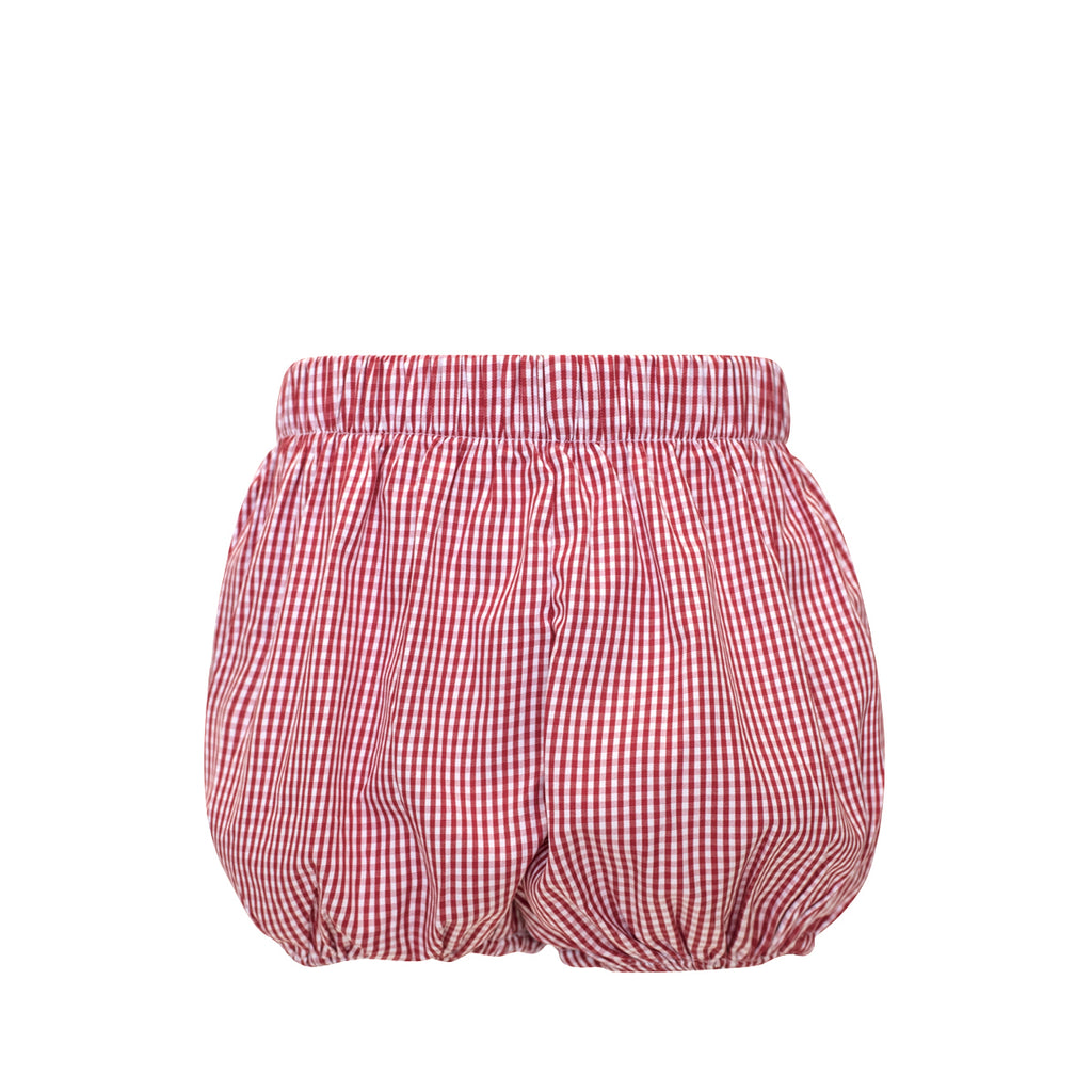 Bradford Bloomers - Red Gingham Fabric