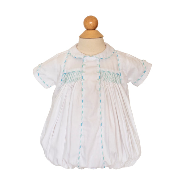 Smocked Yoke Bubble