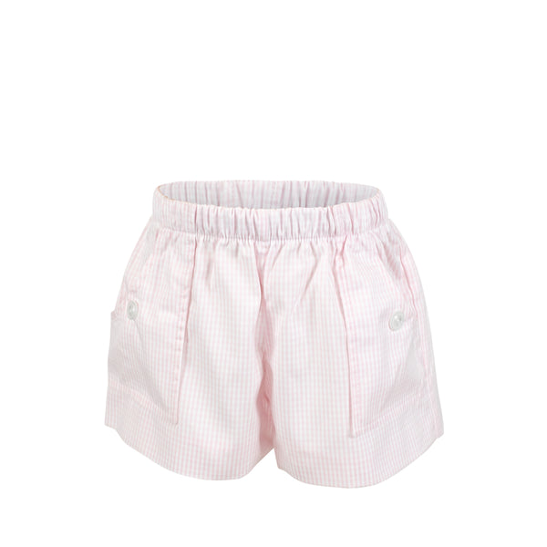 Emme Shorts - Rose Gingham