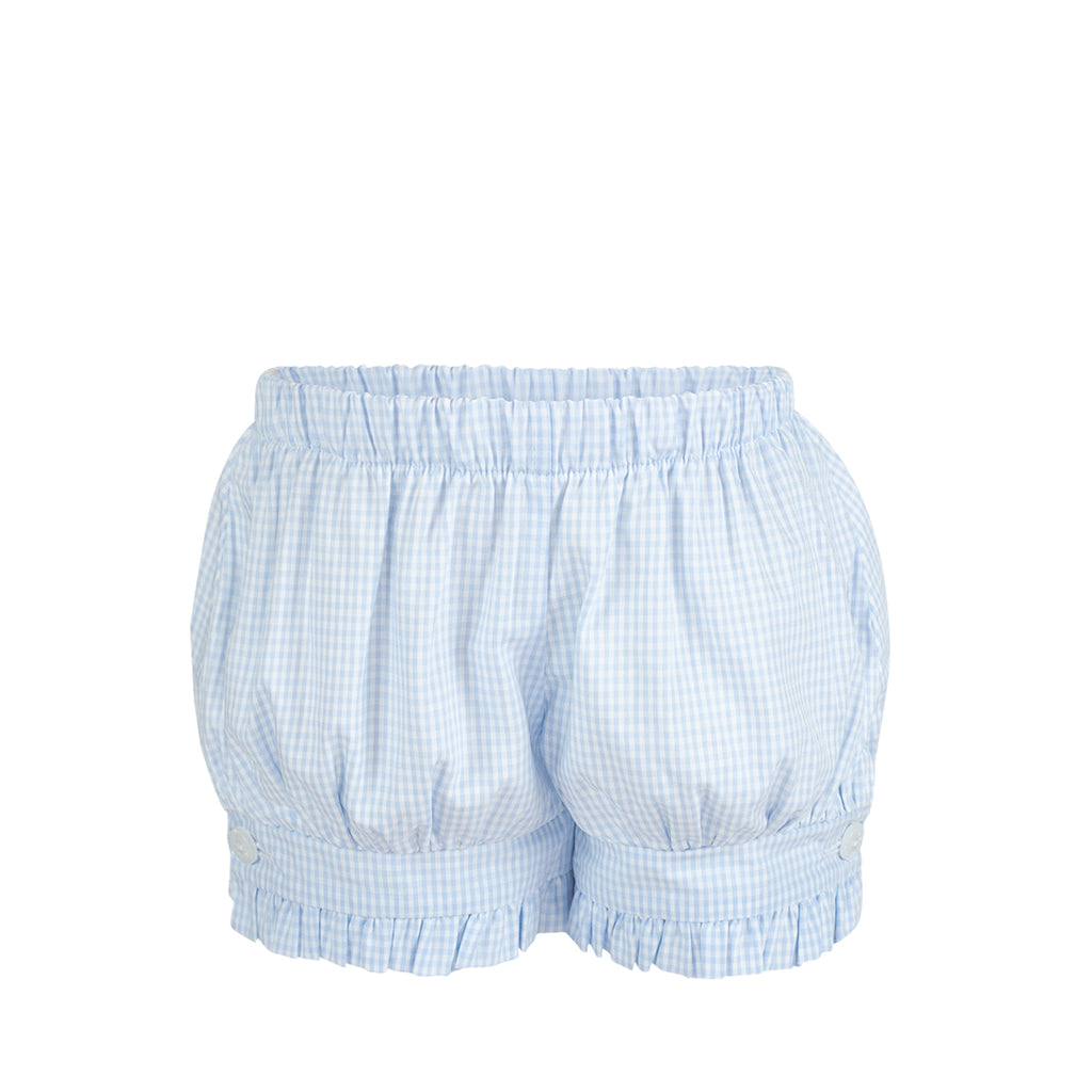 Penny Shorts- Blue Gingham