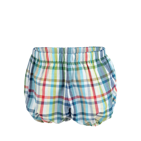 Bloomer Shorts in Spanish Tri Check