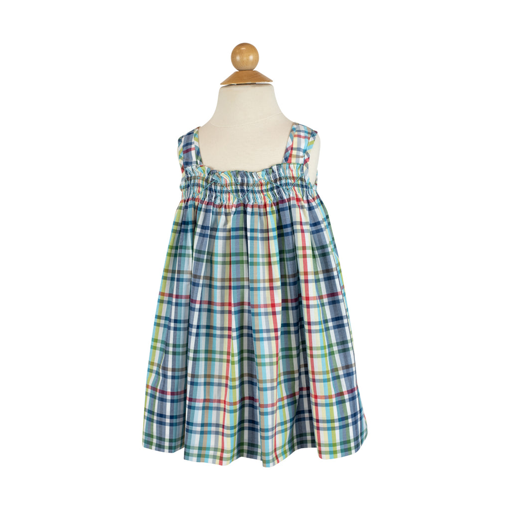 Anne Barrett Dress in Spanish Tri Check