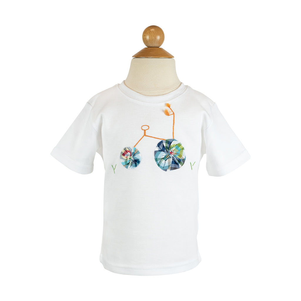 Tricycle Applique Shirt