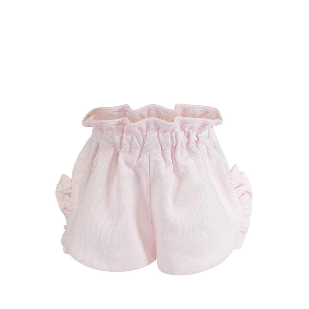 Annie Shorts- French Rose Birdseye Pique