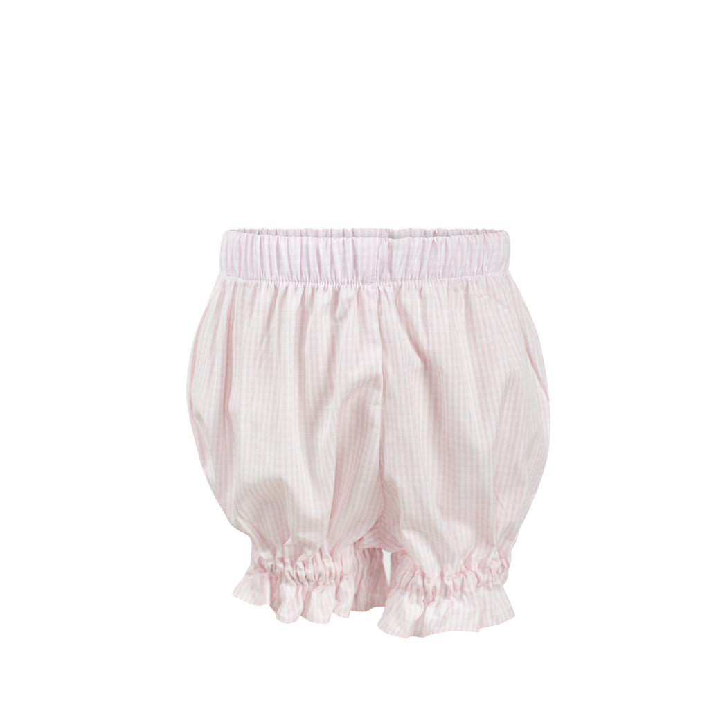 Annabelle Bloomers - Pink Gingham