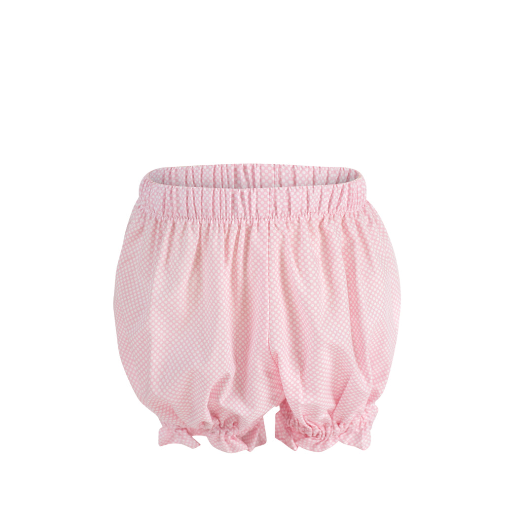 Annabelle Bloomers - Pink Bitty Dot