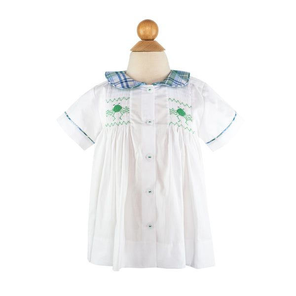 *Smocked Frogs Shirt- AKF