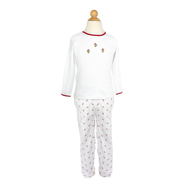 Candy Cane  PJs- Girl