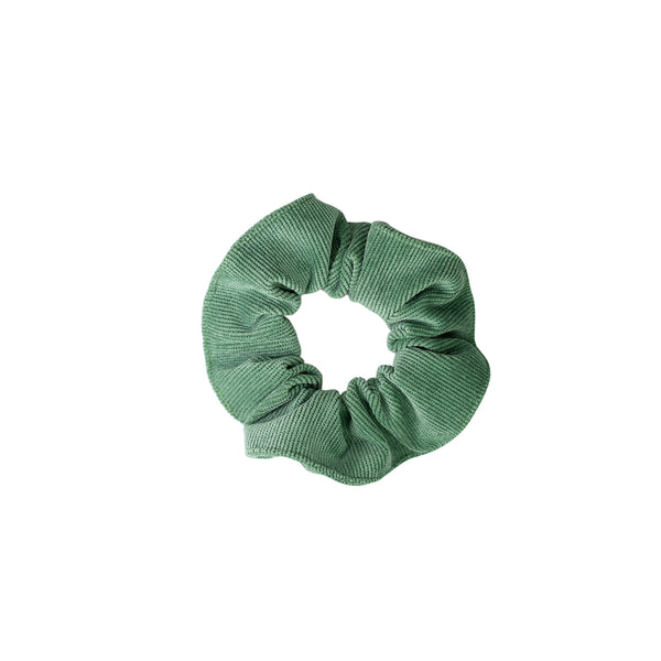 Scrunchie in Grass Green Corduroy
