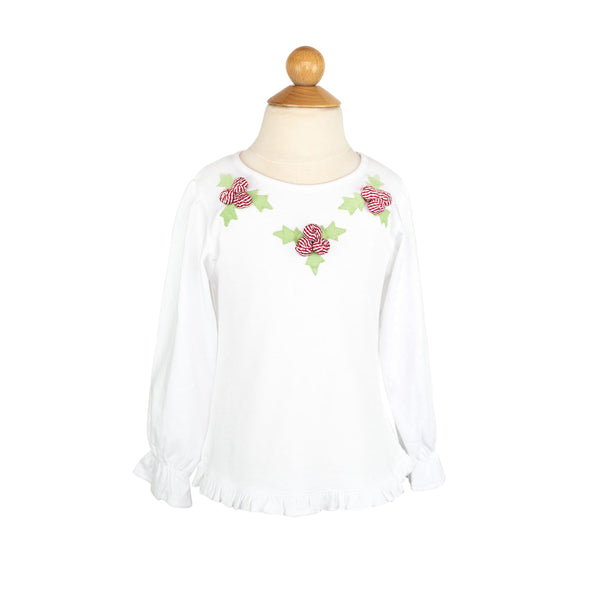 Holly Applique Shirt