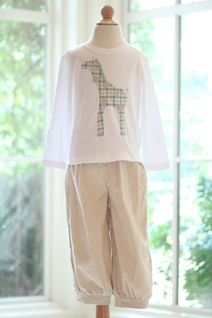 Button Bloomer Pant