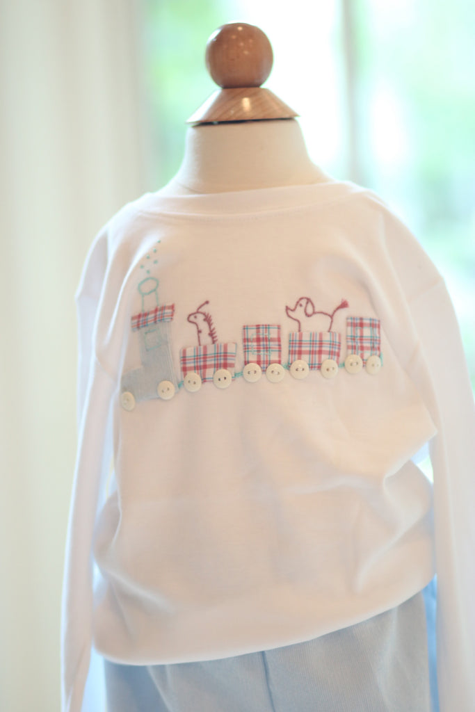 Boy Applique - Train