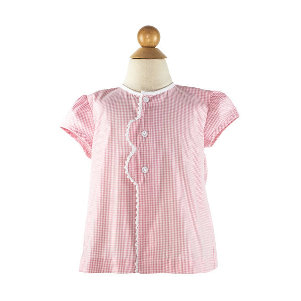 Smocked Ice Cream Cone Blouse
