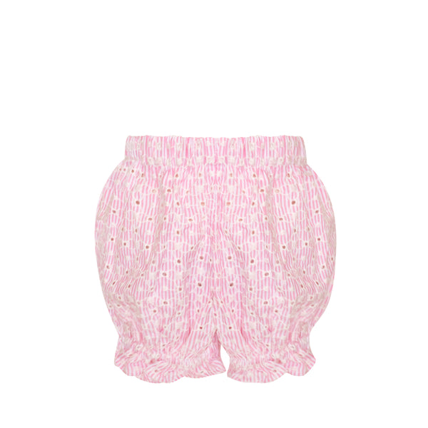 *Anna Belle Bloomers - Pink Eyelet- AKF