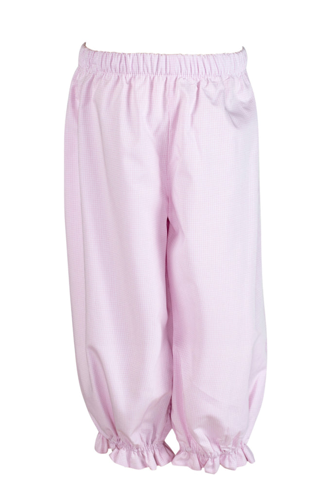 Kate Bloomer Pant in Pink Mini Plaid- Sample Size 2T