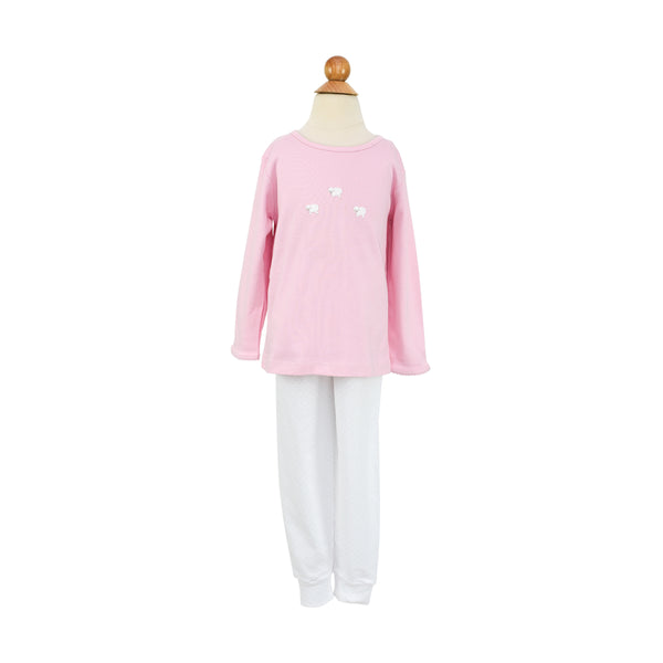AK PJ- Pink Dot Sample Size 3T