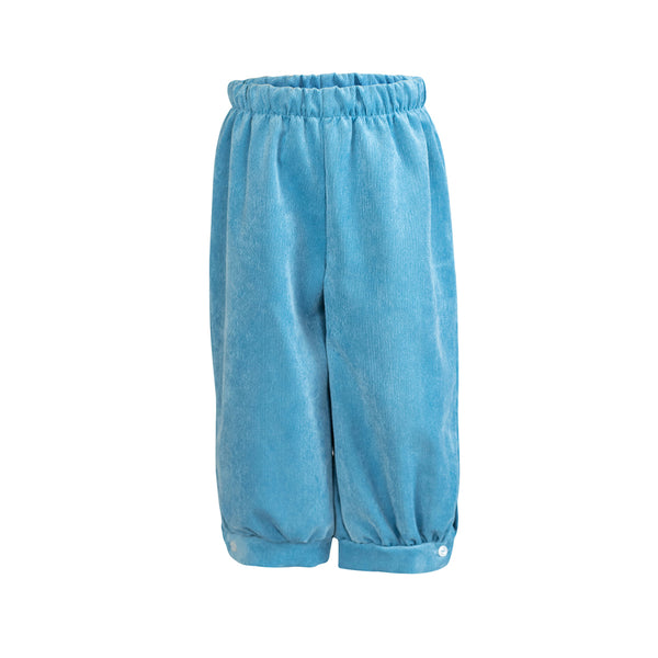 Sam Pant in Poppy Blue Corduroy