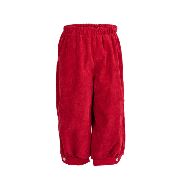 Sam Pant in Red Corduroy