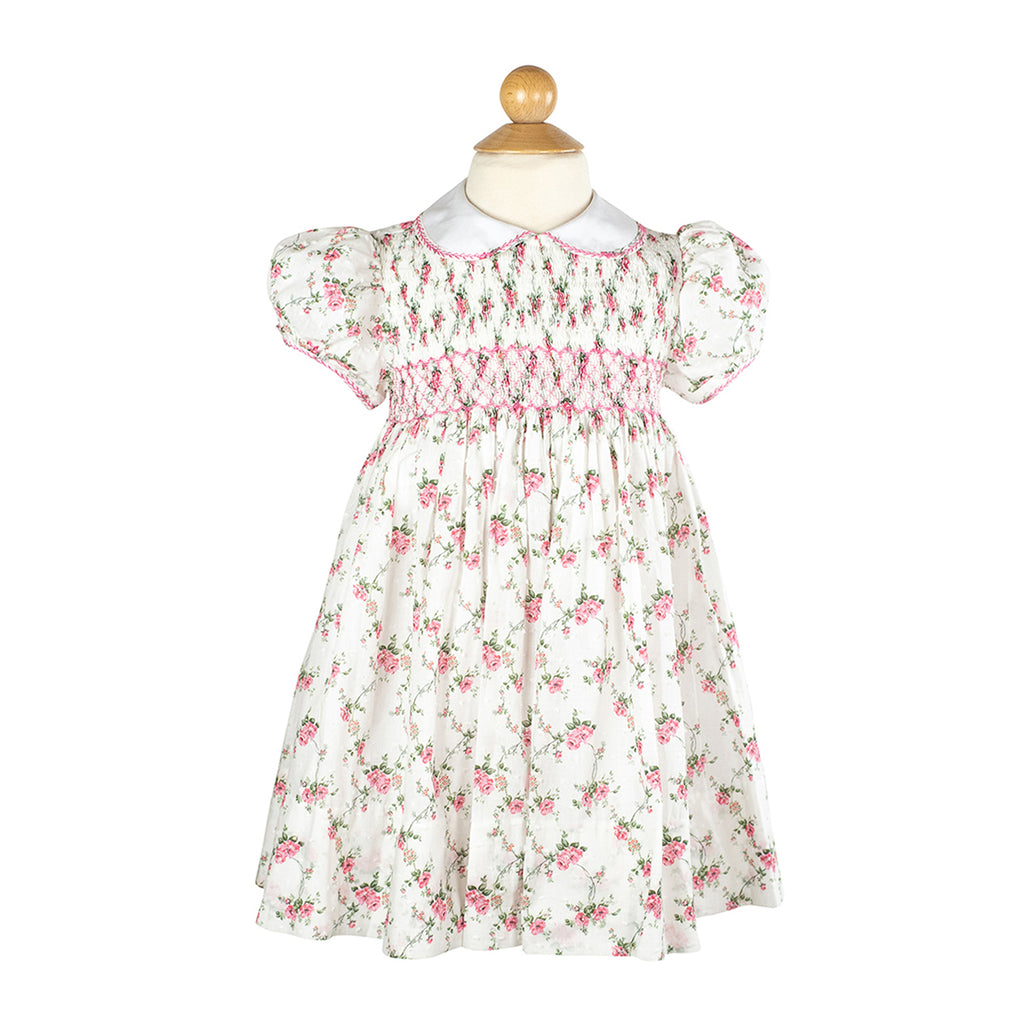 Smocked Frock- English Floral