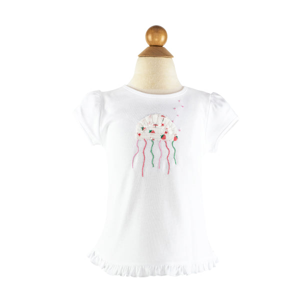 *Girl Applique - Jellyfish- AKF