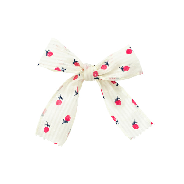 Bow- Scattered Poppies Sample