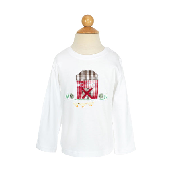 Animal Farm Applique Shirt-AKF