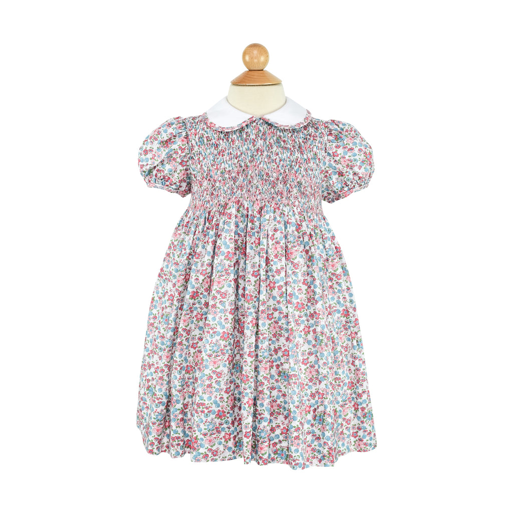 Smocked Frock - Winter Garden Sample Size 4T