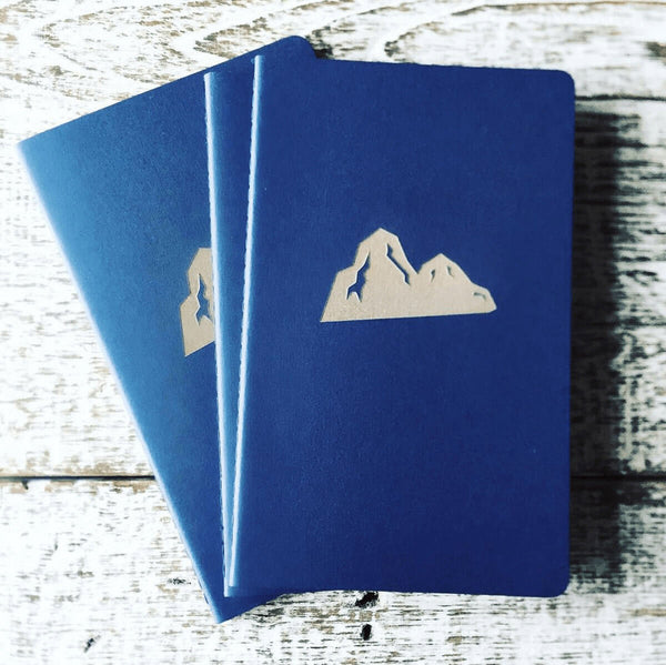 Your logo on a Moleskine notebook