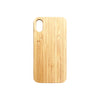 iPhone X Personalised Wooden Phone Case