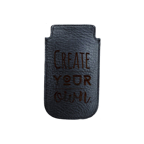 Leather Phone Sleeves