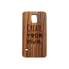 Samsung S5 Personalised Wooden Phone Case
