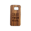 Samsung S6 Personalised Wooden Phone Case