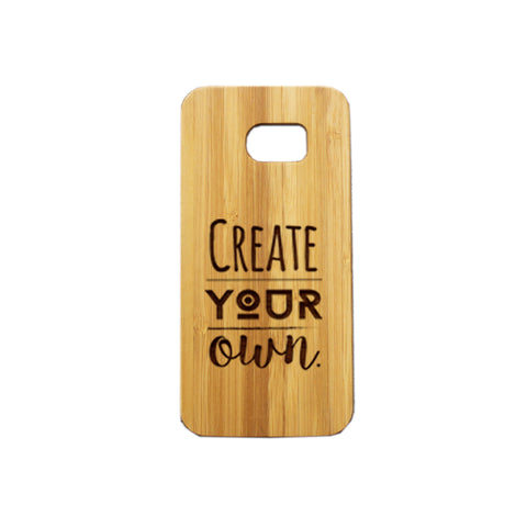 Samsung S7  Personalised Wooden Phone Case