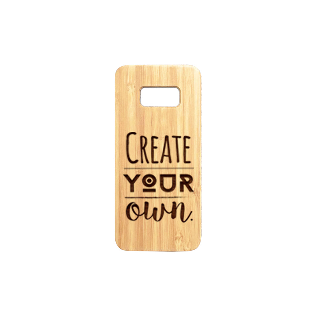 hot sale online 8f59f 8302a Samsung S8 Personalised Wooden Phone Case