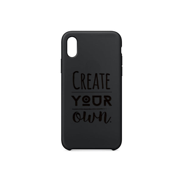 Silicon iPhone X Case