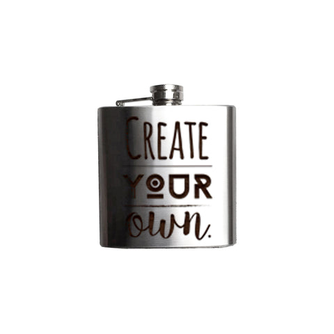 Hip Flask, 6oz