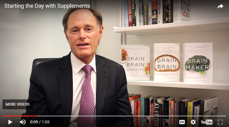 Dr. Perlmutter on Starting the Day with Supplements