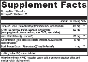 Nrf2 Supplement Facts