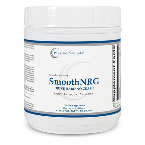 SmoothNRG Natural Mixed Berry Energy Drink Mix
