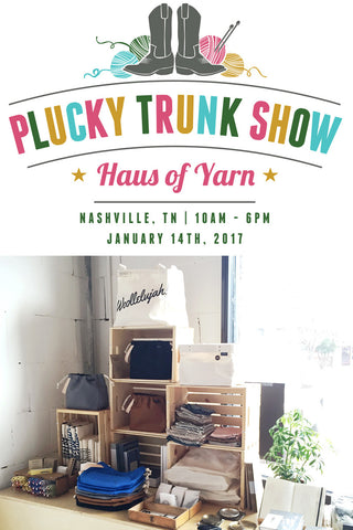 Plucky Trunk Show