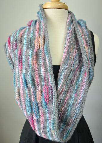 Bloom Striped Cowl