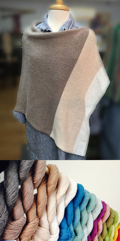 Easy Folded Poncho