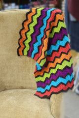 Missoni-inspired Lap Blanket