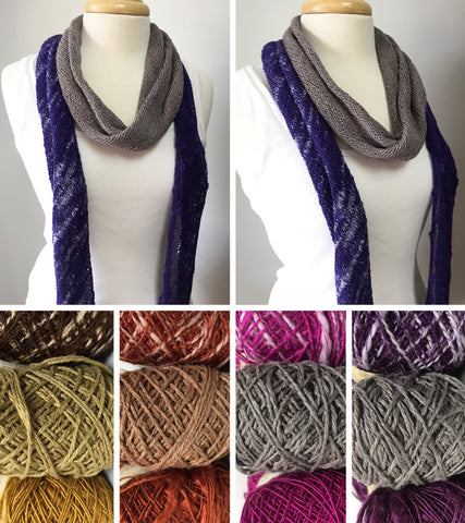 Shifting Silk Scarf
