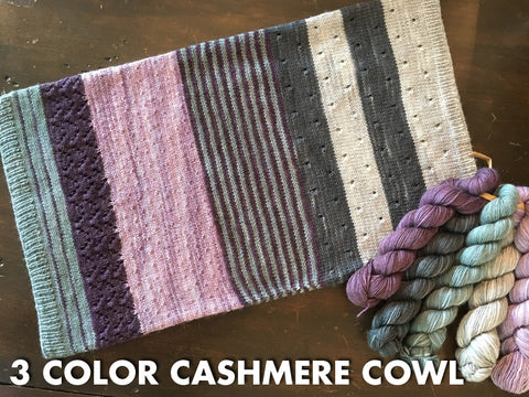 3-Color Cashmere Cowl2