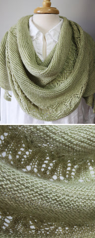 Waiting for Rain Shawl