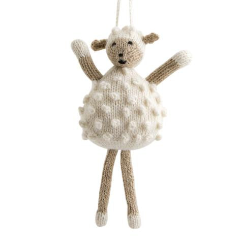 Global Goods Alpaca Sheep Ornament