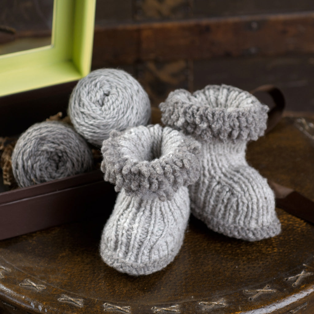 Appalachian Baby Wool Boots Hello Baby Kit
