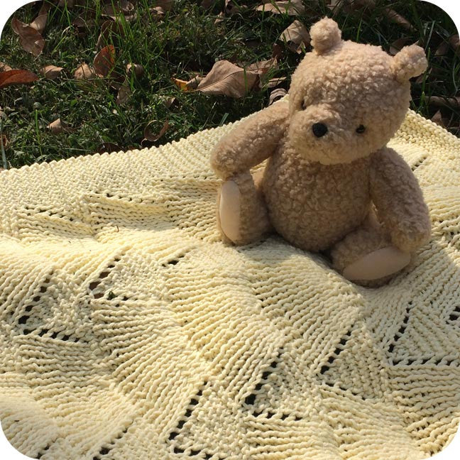 By the Sea Blanket Pattern